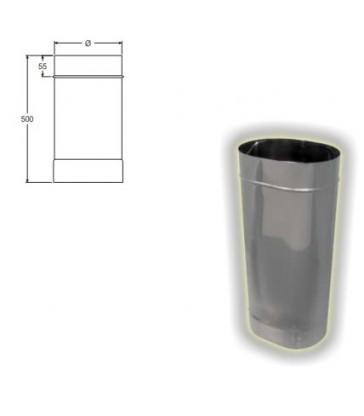 tubo ovale cm 50
