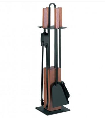 50.542 Porta attrezzi con 4 accessori con legno