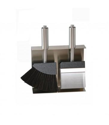 2013 Porta attrezzi camino con 2 accessori.