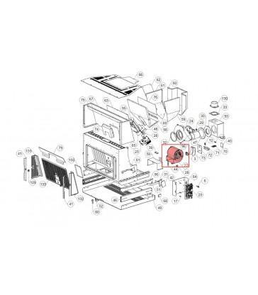 002271042 Ventilatore centrifugo Extraflame