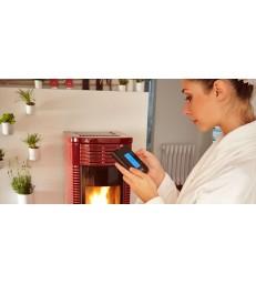 Molina Evo, termostufa a Pellet di CLAM, 18Kw